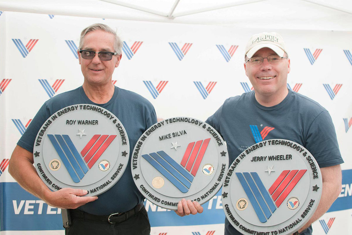 VETS members receive lifetime service awards